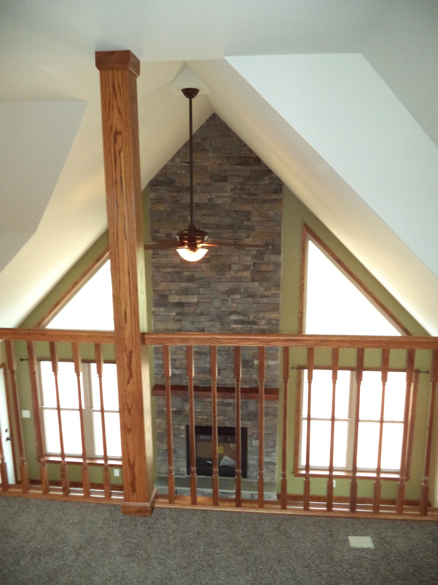 . 03   Slate Run Open Second Floor Loft and Two story Living Room with