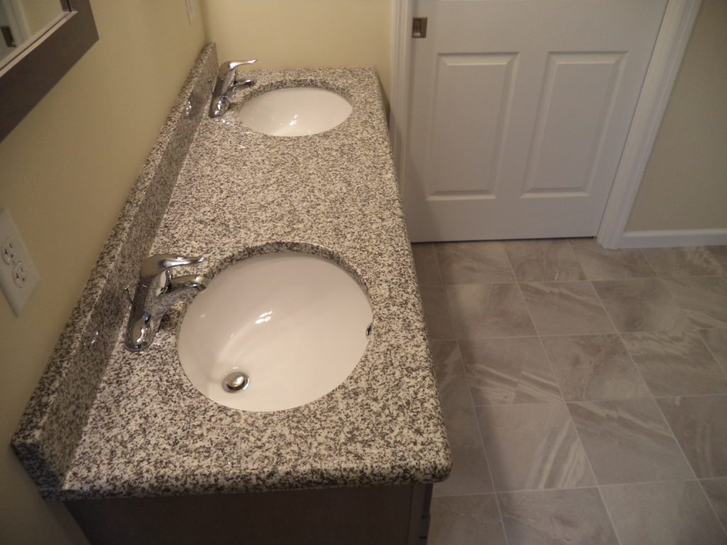 Adams Optional Double Bowl Vanity