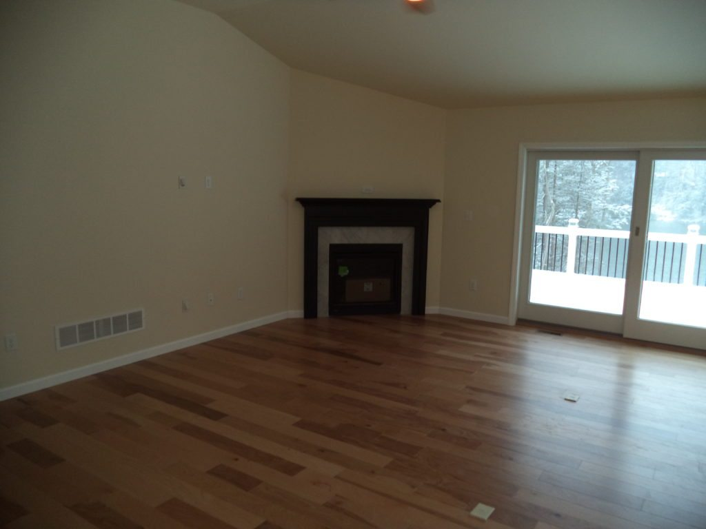 Adams Living Room with Optional Fireplace