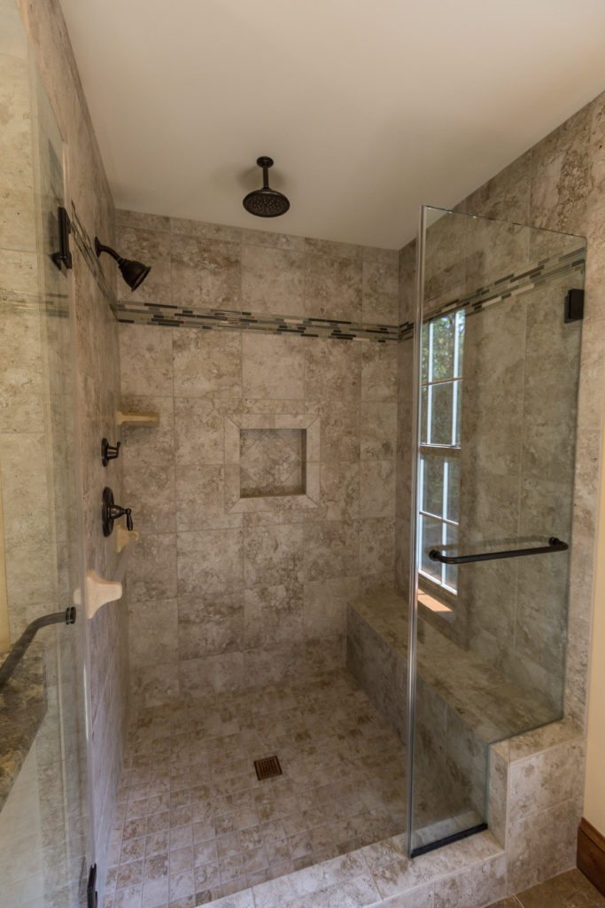 Benner Master Bath Shower