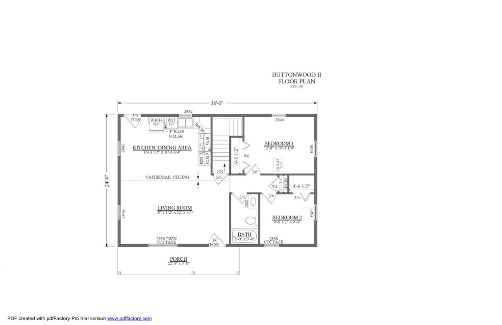 Buttonwood Floor Plan
