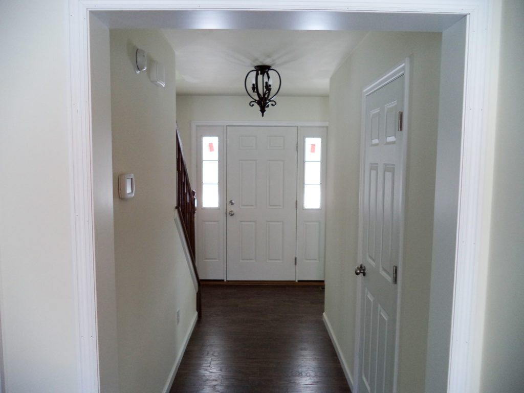 Colonial Style Foyer