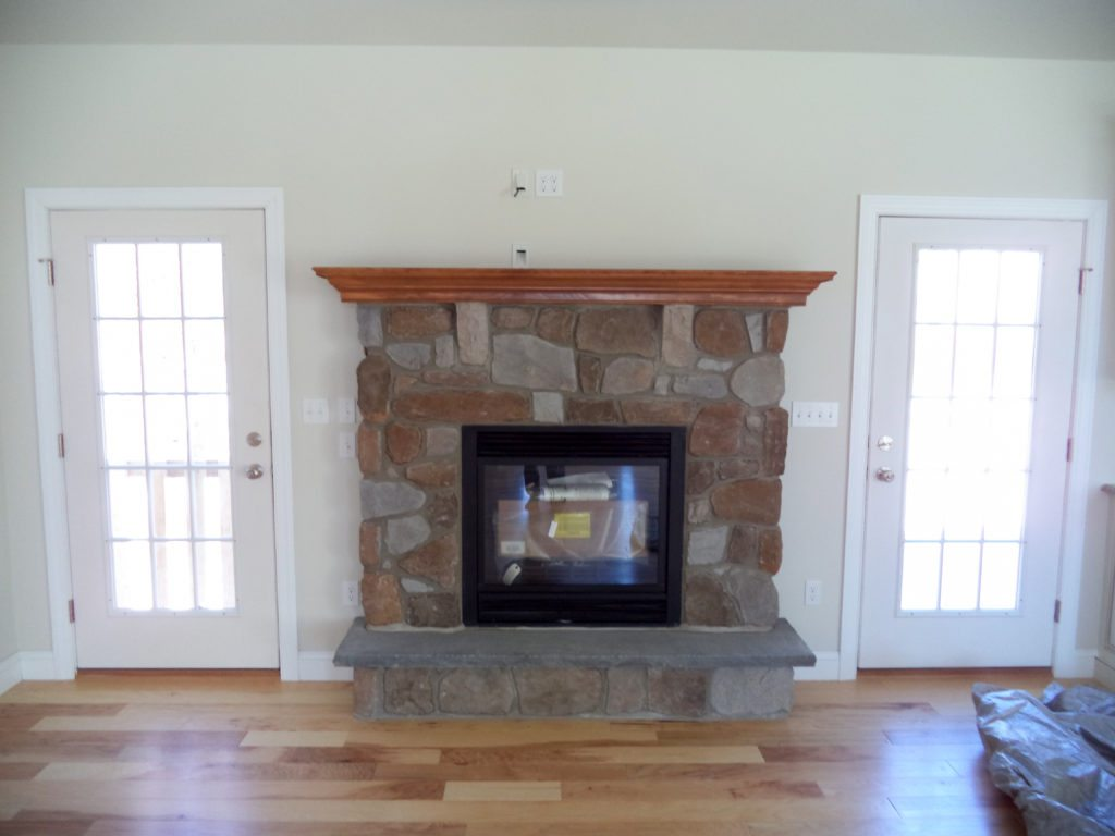 Musser 2 Optional Fireplace