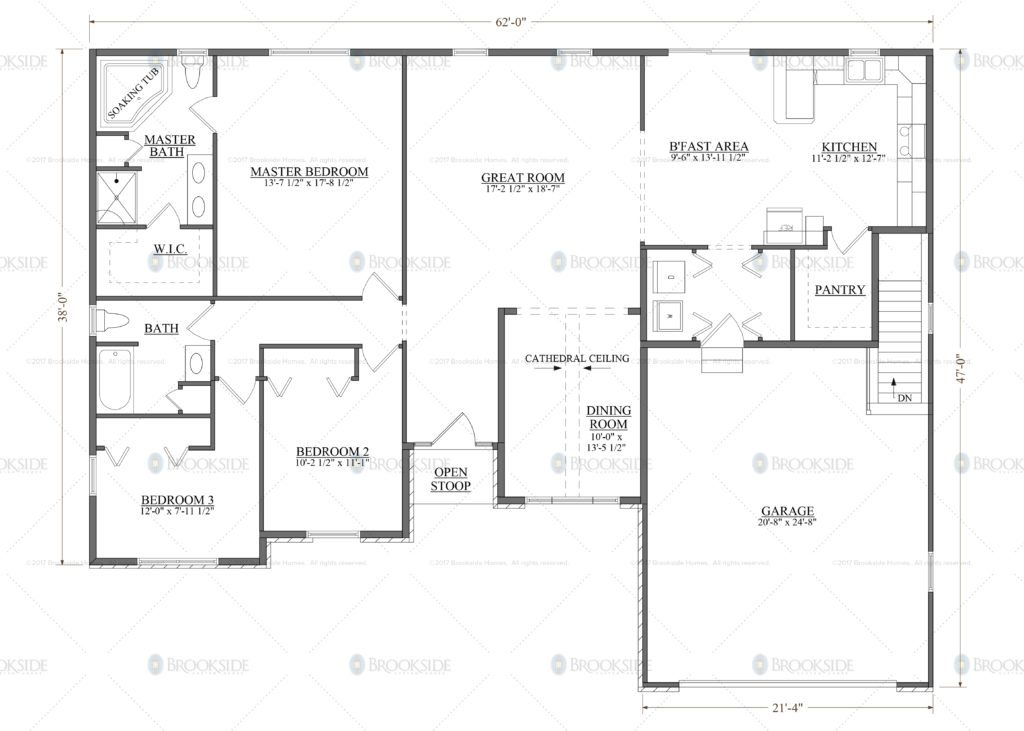 Musser 3 Floor Plan