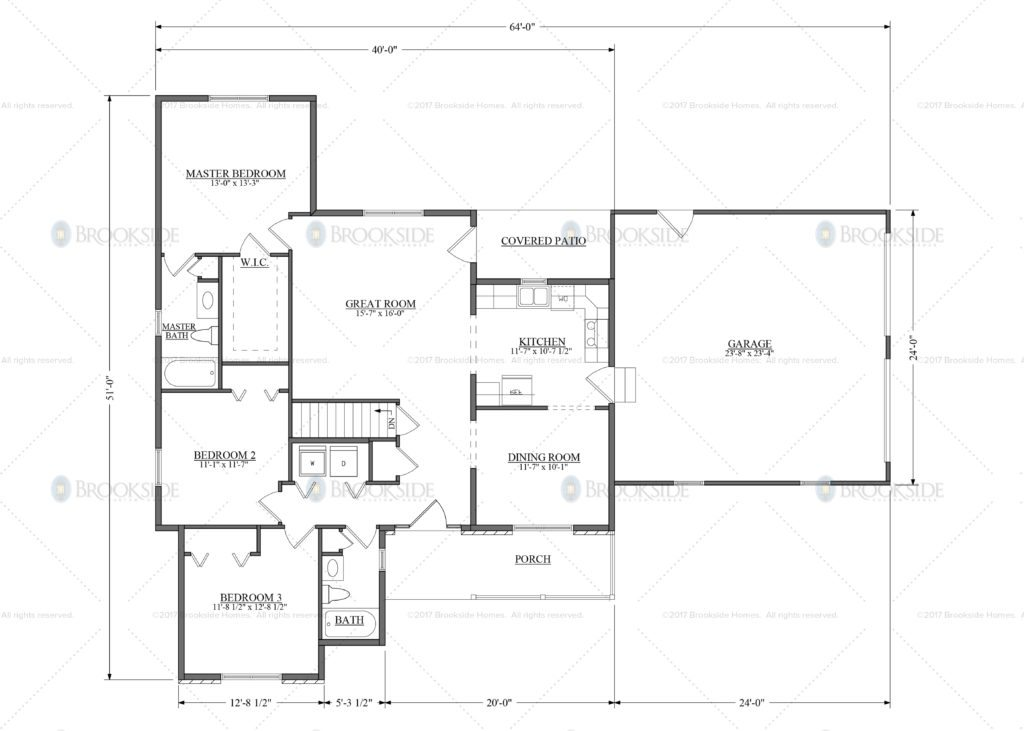 Riverside 1 Floor Plan