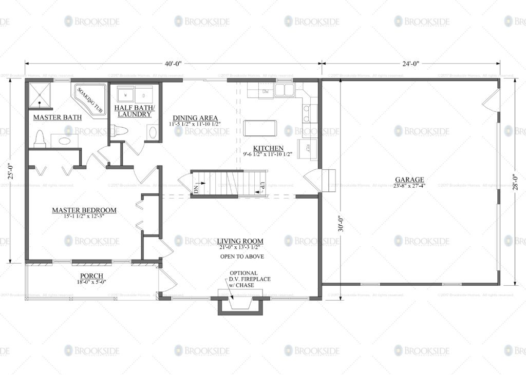 Slate Run Floor Plan