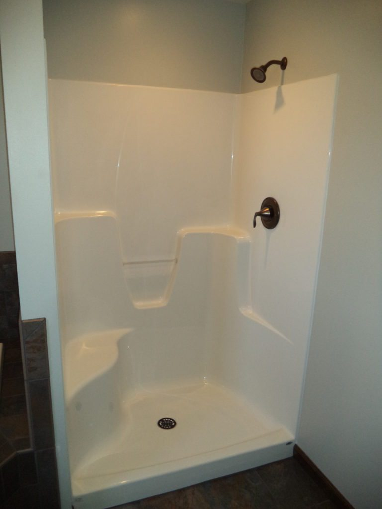 Slate Run Reverse Floor Plan Master Bath Shower
