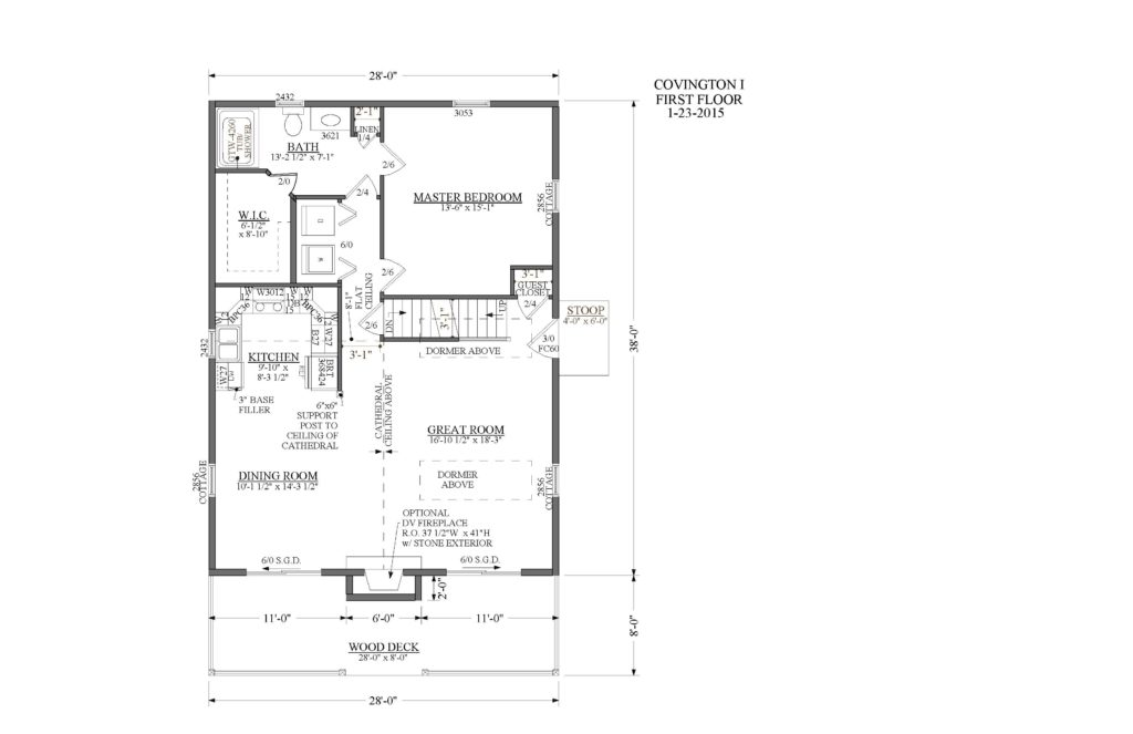 Covington Floor Plan