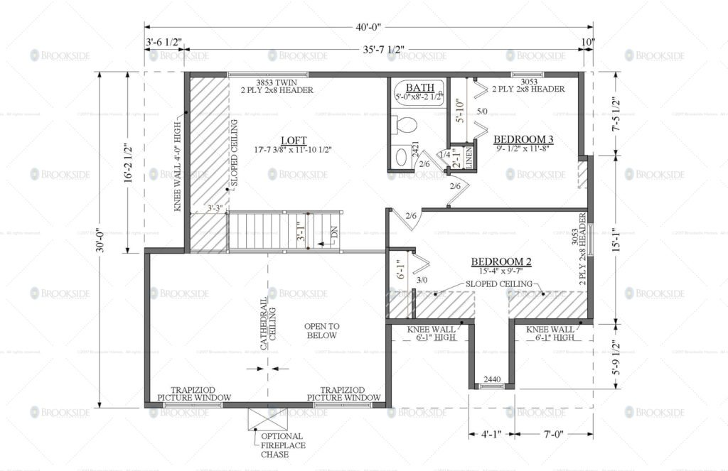Blossburg 1 Floor Plan